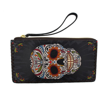 Day of the Dead wristlet or wallet
