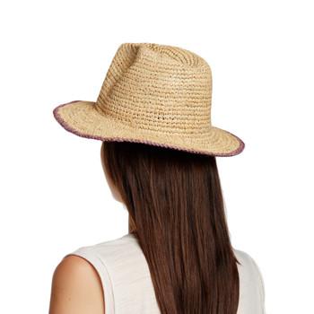 Backside of Tortola hat.