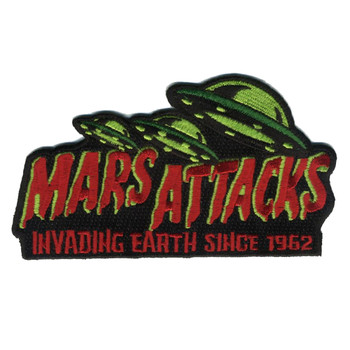 Mars Attacks Invading Earth Patch