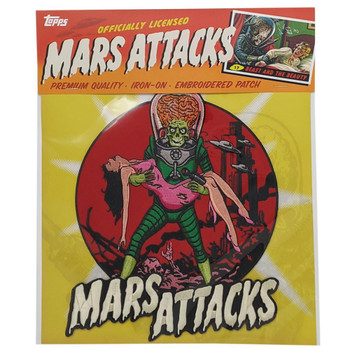 Mars Attacks Victim Back Patch packaging view