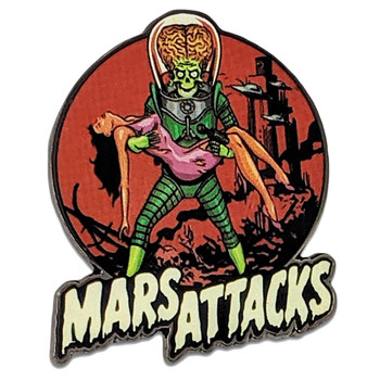 Mars Attacks Victim Martian Enamel Pin