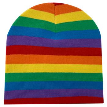 Rainbow Flag Beanie Cap