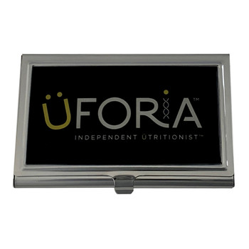 Black Uforia ID Card Case