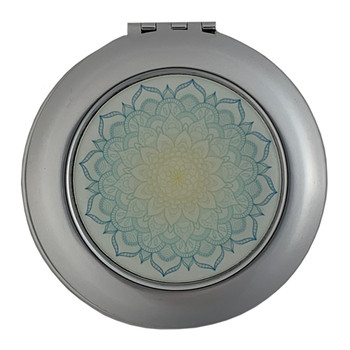 Mandala Blueprint Compact Mirror