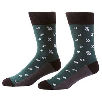 Big Bucks Men's Crew Socks