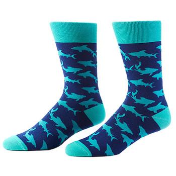 Shark Attack Men's Crew Socks