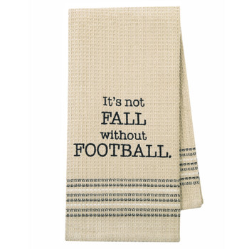 Fall Football Kickoff Kitchen Dishtowel