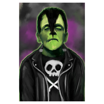 Fun Rad Glenstein Frankenstein Monster Art Print