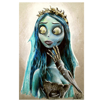Manuela Lai The Blue Bride Art Print