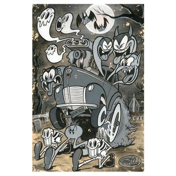 Shawn Dickinson Haunt Rod Art Print