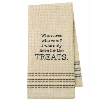 Treat Me Kitchen Dishtowel