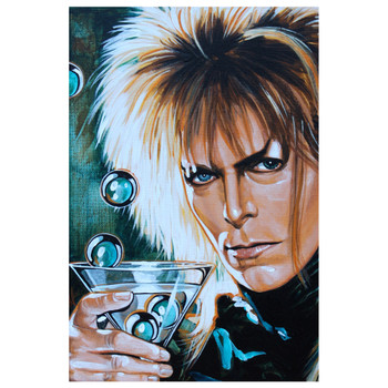 Mike Bell The Goblin King Art Print