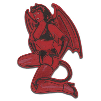Bettie Page Little Devil Patch