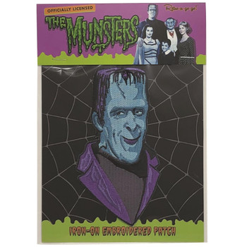 Herman Munster Patch Packaging