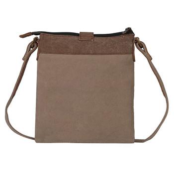 Mona B Intermix Crossbody Bag back view