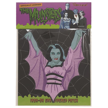 Lily Munster Patch Packaged
