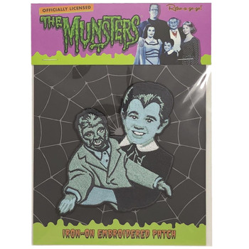 Eddie Munster Patch Packaged