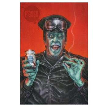 P'gosh Hot Rod Herman Art Print