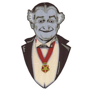 Grandpa Munster Iron On Patch
