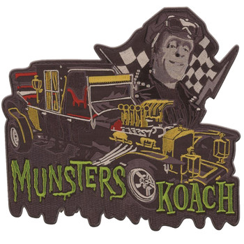 Munsters Koach Iron On Back Patch