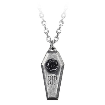 P881 - RIP Rose Pendant