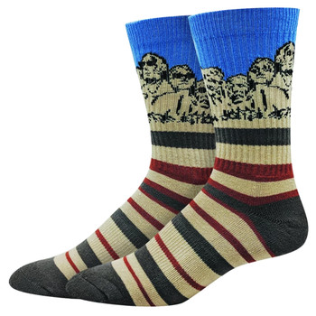 Mt Rushmore Men's Active Crew Socks