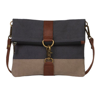 Mona B Fold Over Crossbody Purse