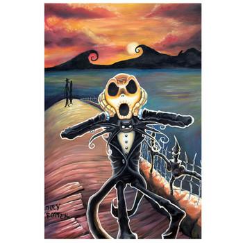 Joey Rotten Jack Screams Art Print