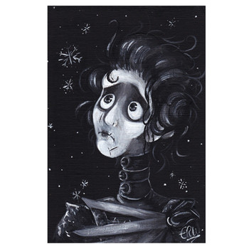 E.R. Whittingham Edward Scissorhands Art Print