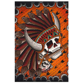 Brother Greg Chief Great Buffalo Art Print