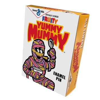 General Mills Yummy Mummy Buddy Enamel Pin Collectors Box