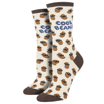 Cool Beans Women's Crew Socks