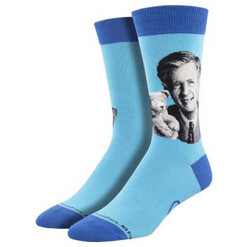 Mister Rogers Mens' Crew Socks