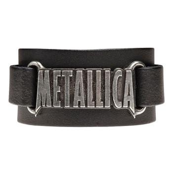 HRWL444 - Metallica Logo Wriststrap front view
