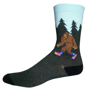 Classic Bigfoot Men's Crew Socks