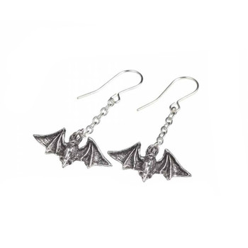 E429 - Kiss the Night Earrings side view