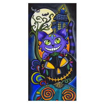 Catolantern by Melody Smith Canvas Print