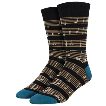 Sheet Music Men's Crew Socks