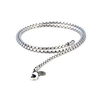 BICO Pacific Pewter Stylus Chain Necklace