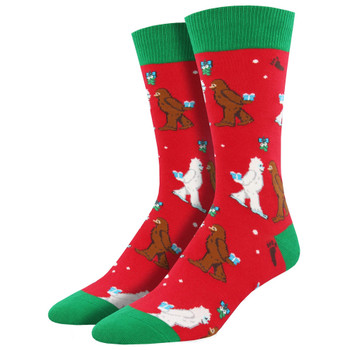 Mythical Kissmas Men's Christmas Socks