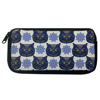 Cheshire Cat Cosmetic Makeup Bag