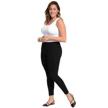 Lysse Plus Size Cotton Legging side view