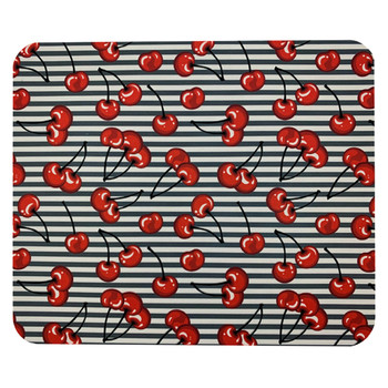 Rockabilly Cherries Mouse Pat Mat