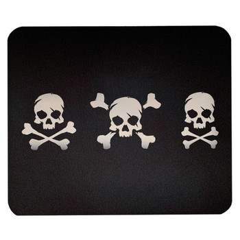 Skull and Crossbones Mouse Pad Mat