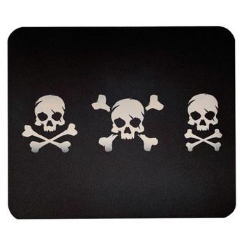 Skull and Crossbones Mouse Pad Mat