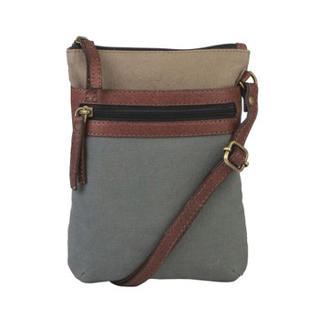 Mona B Canvas Purse River Green