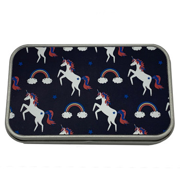 Rainbows and Unicorns Small Tin Storage Box