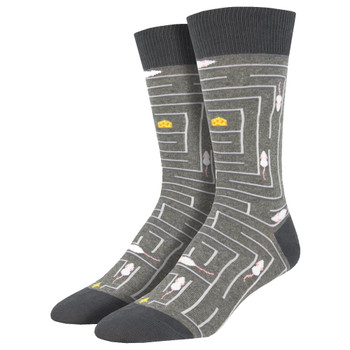 Rat Race Men's Crew Socks