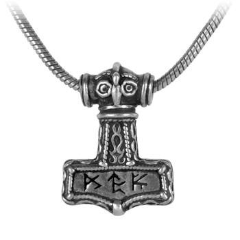 P338 - Bindrune Hammer Pendant
