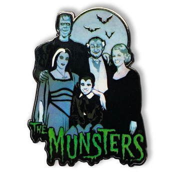 The Munsters Family Collectable Pin